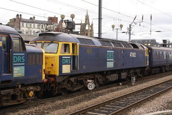 Picture of Direct Rail Services DRS Class 47 47802 - Free Pictures - FreeFoto.com