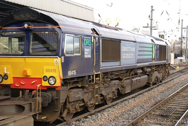 Picture of Direct Rail Services DRS Class 66 - Free Pictures - FreeFoto.com