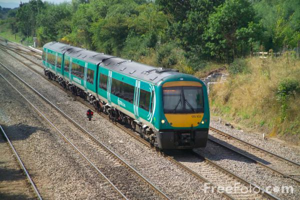 Picture of Central Trains Class 170 Turbostar 170 103 - Free Pictures - FreeFoto.com