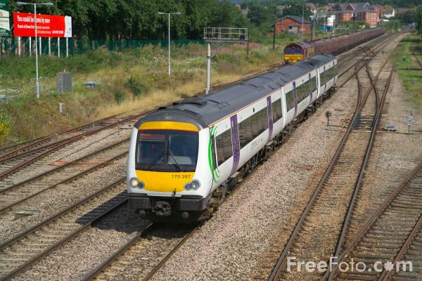 Picture of Central Trains Class 170 Turbostar 170 397 - Free Pictures - FreeFoto.com