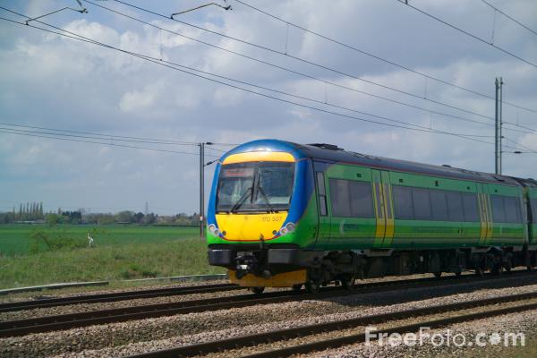 Picture of Central Trains - Free Pictures - FreeFoto.com