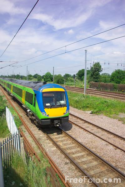 Picture of Central Trains Class 170 Turbostar - Free Pictures - FreeFoto.com
