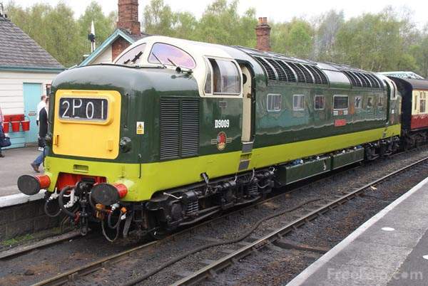 Picture of Deltic D9009 Alycidon - Free Pictures - FreeFoto.com