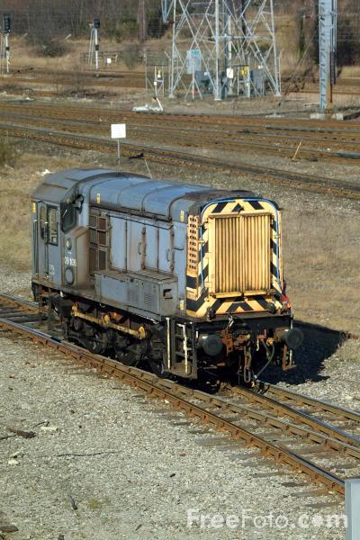 Picture of Class 09 09 106 shunts Tyne Yard - Free Pictures - FreeFoto.com