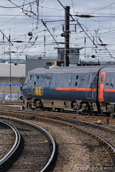 Picture of GNER - Great North Eastern Railway - Free Pictures - FreeFoto.com