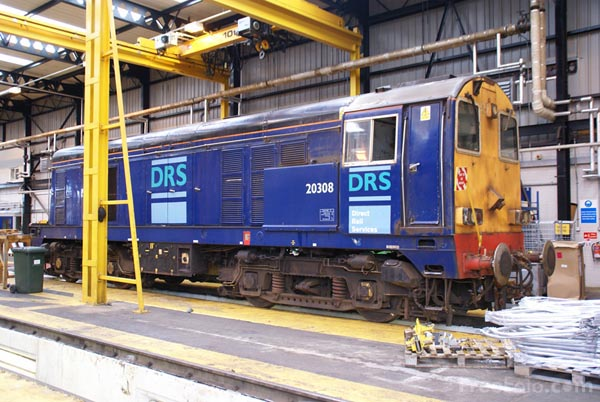 Picture of Direct Rail Services DRS Kingmoor Depot, Carlisle - Free Pictures - FreeFoto.com