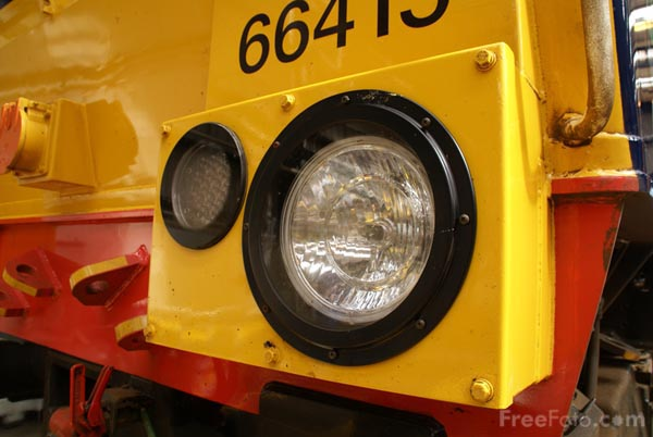 Picture of Direct Rail Services DRS Class 66 66415 - Free Pictures - FreeFoto.com