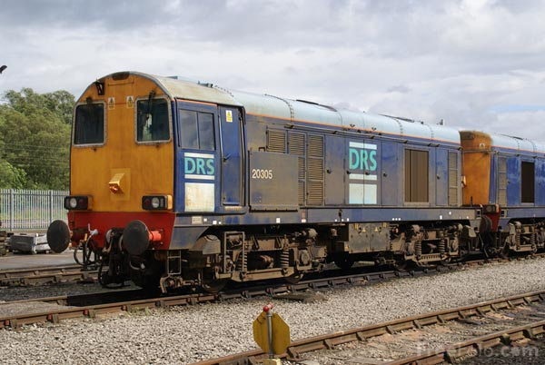 Picture of Direct Rail Services DRS Class 20 20301 20305 - Free Pictures - FreeFoto.com