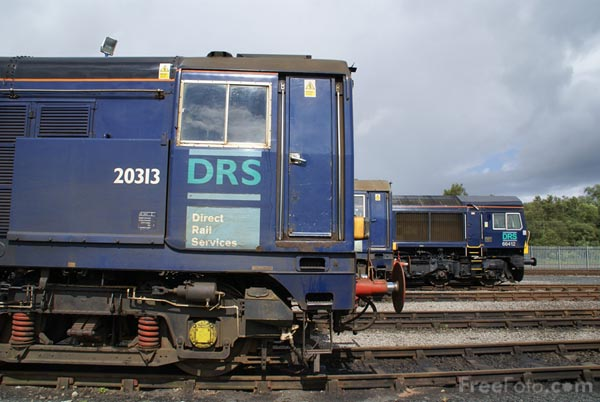 Picture of Direct Rail Services DRS Class 20 20313 - Free Pictures - FreeFoto.com