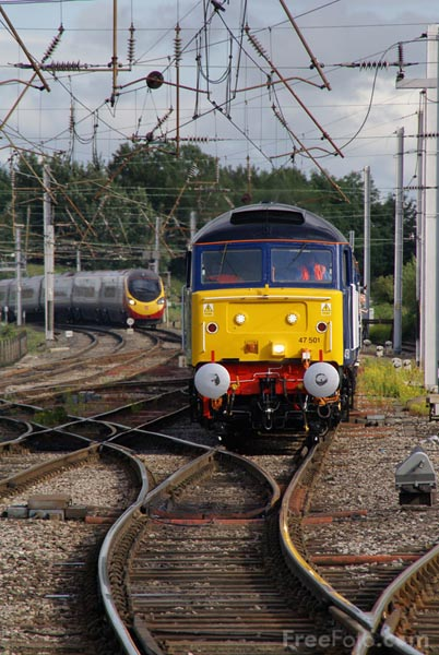 Picture of Direct Rail Services DRS Charter Train - Free Pictures - FreeFoto.com