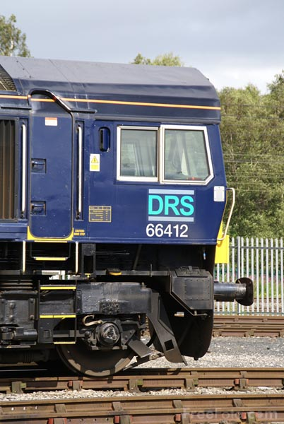 Picture of Direct Rail Services DRS Class 66 66412 - Free Pictures - FreeFoto.com