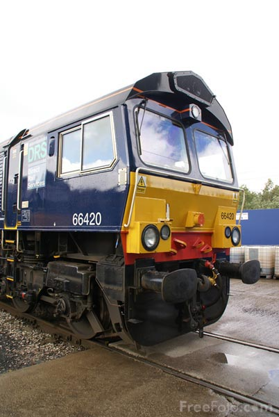Picture of Direct Rail Services DRS Class 66 66420 - Free Pictures - FreeFoto.com