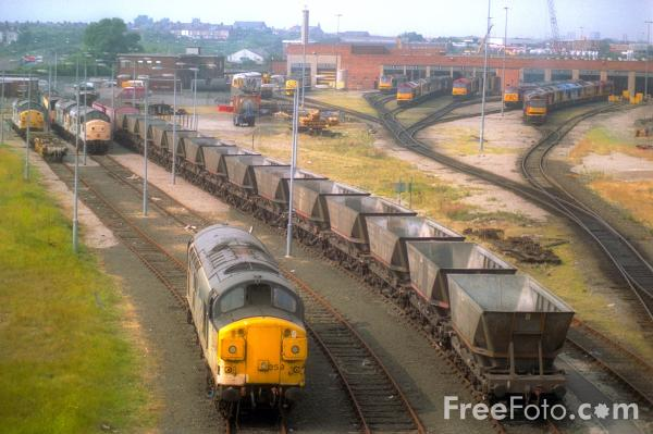 Picture of EWS Thornaby Depot - Free Pictures - FreeFoto.com