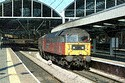 Image Ref: 23-13-5 - EWS Brush Class 47 47780 on a charter at Newcastle station, Viewed 6393 times