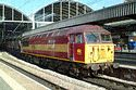 EWS Class 56087 Port of Hull on a MGR train at Newcastle has been viewed 7953 times