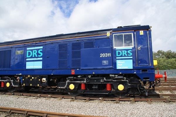 Picture of Direct Rail Services DRS Class 20 20311 - Free Pictures - FreeFoto.com