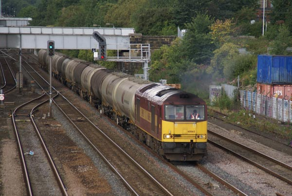Picture of EWS Class 60 60065 at Pelaw - Free Pictures - FreeFoto.com