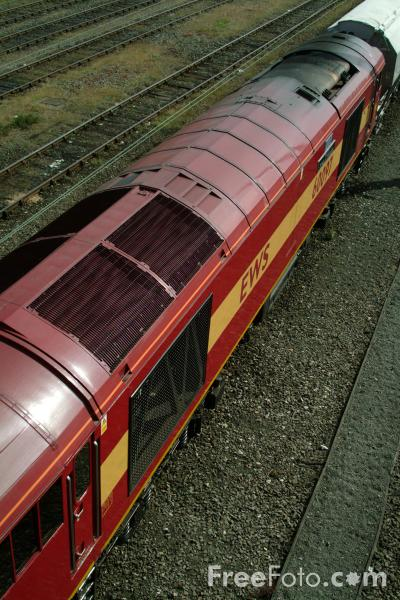 Picture of Class 60 - 60 097 - Free Pictures - FreeFoto.com