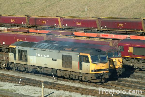Picture of Class 60 - 60 093 - Free Pictures - FreeFoto.com