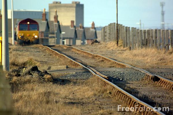 Picture of EWS Class 66 245 at Blyth - Free Pictures - FreeFoto.com