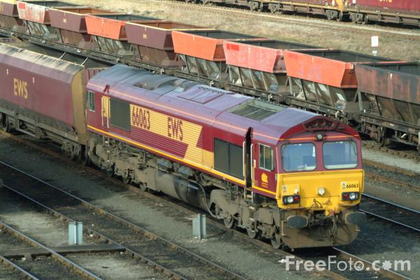 Picture of Class 66 - Free Pictures - FreeFoto.com