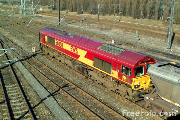 Picture of EWS Class 66 153 at Tyne Yard - Free Pictures - FreeFoto.com