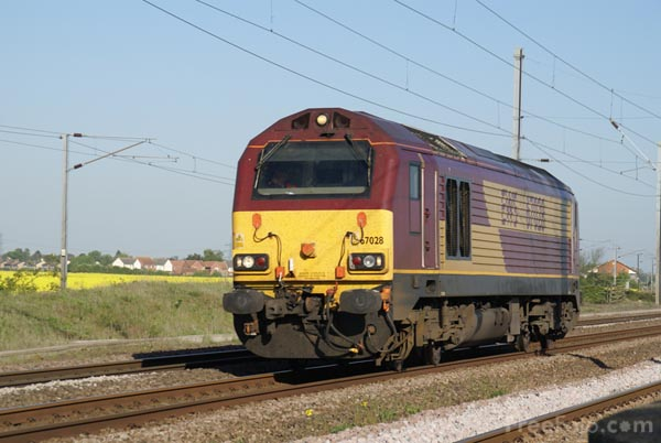 Picture of Class 67 - Free Pictures - FreeFoto.com