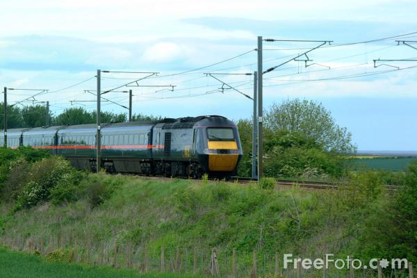 Picture of GNER 125 HST in Northumberland - Free Pictures - FreeFoto.com