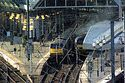 Image Ref: 23-21-3 - GNER 225 and 125 HST at Newcastle station, Viewed 8917 times