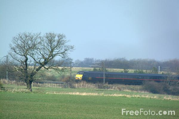 Picture of GNER 225 near Chester le Street - Free Pictures - FreeFoto.com