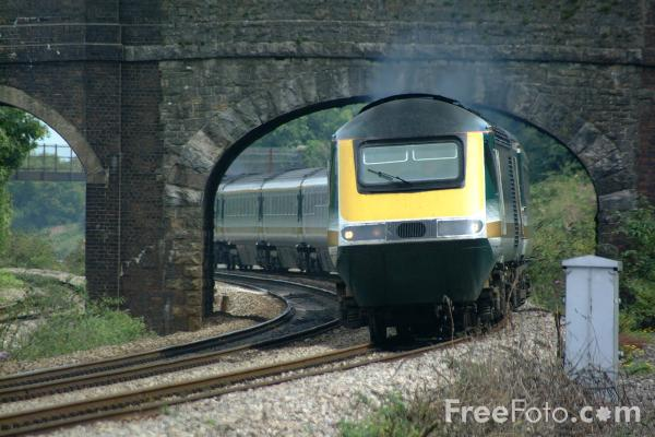 Picture of First Great Western High Speed Train - Free Pictures - FreeFoto.com