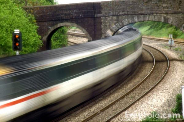 Picture of Swansea - London Paddington High Speed Train (HST) - Free Pictures - FreeFoto.com