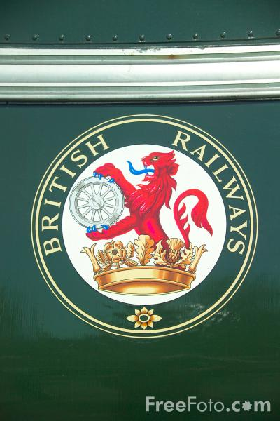 Picture of Old British Railways Sign - Free Pictures - FreeFoto.com