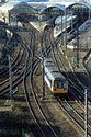 Image Ref: 23-24-51 - Arriva Trains Northern Pacer unit leaves Newcastle upon Tyne, Viewed 6567 times