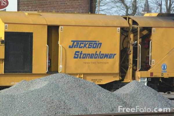 Picture of Stoneblower pneumatic ballast injection machine - Free Pictures - FreeFoto.com
