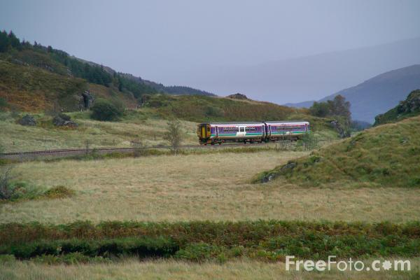 Picture of ScotRail train service, West Highland Line - Free Pictures - FreeFoto.com