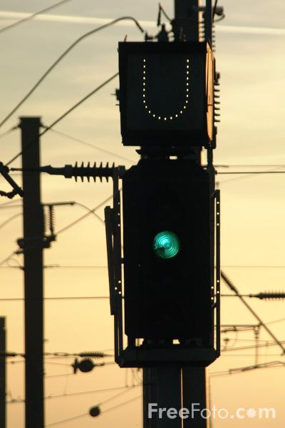 Picture of Green Signal - Free Pictures - FreeFoto.com