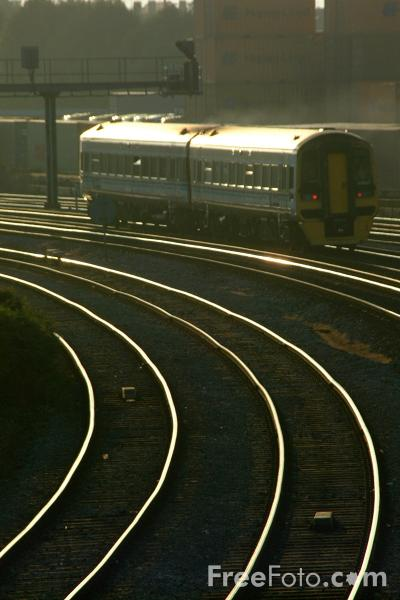 Picture of Wales and West rail service - Free Pictures - FreeFoto.com