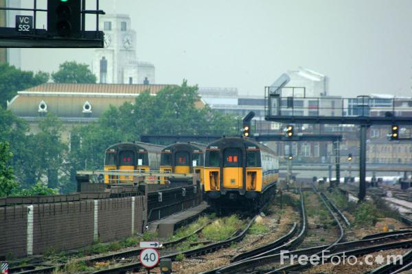 Picture of Connex train service, London - Free Pictures - FreeFoto.com
