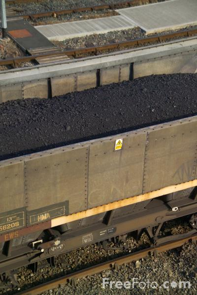 Picture of MGR Coal Train - Free Pictures - FreeFoto.com