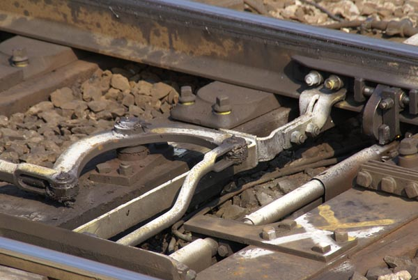 Picture of Railway Point Railroaad Switch - Free Pictures - FreeFoto.com