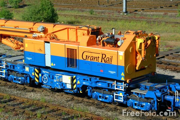 Picture of GrantRail's new Kirow Crane - Free Pictures - FreeFoto.com