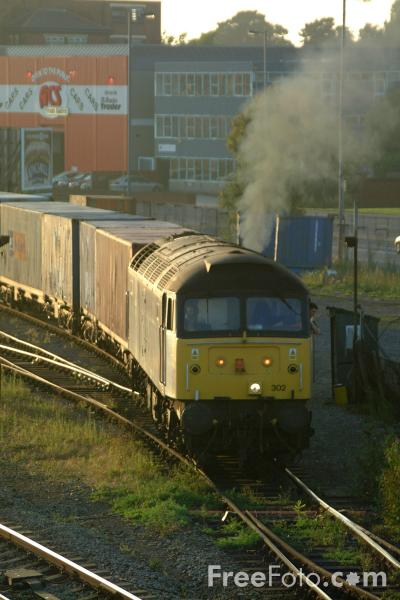 Picture of Freightliner Class 57 - Free Pictures - FreeFoto.com