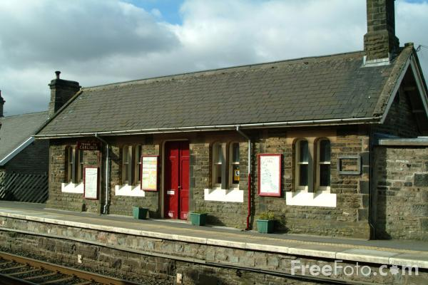 Picture of Garsdale Station, Settle to Carlisle Railway - Free Pictures - FreeFoto.com