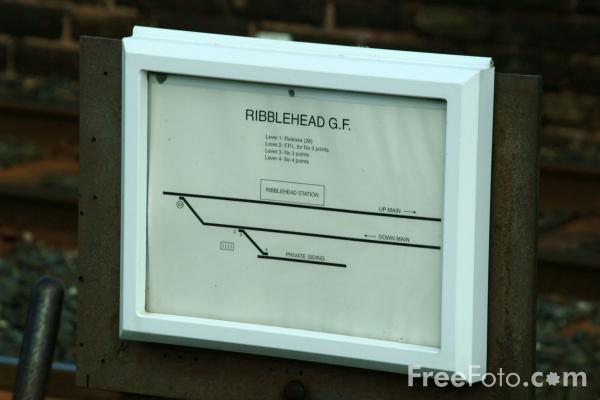 Picture of Ground Frame, Ribblehead Station, Settle to Carlisle Railway - Free Pictures - FreeFoto.com