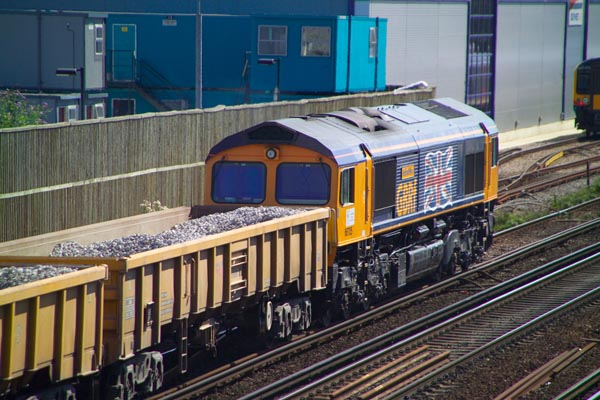 Picture of GB Railfreight  GBRf - Free Pictures - FreeFoto.com