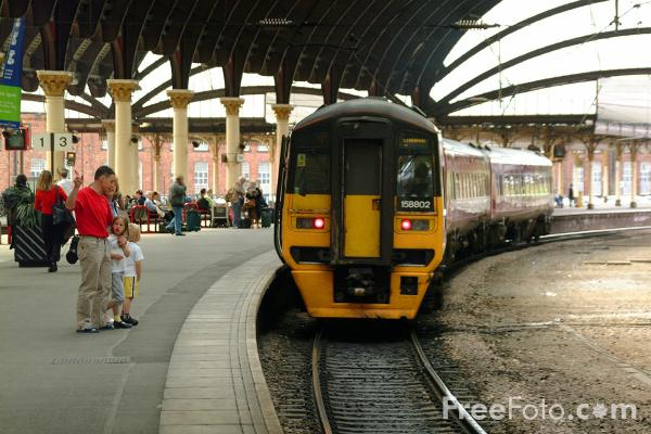 Picture of Arriva Trans Pennine - Free Pictures - FreeFoto.com