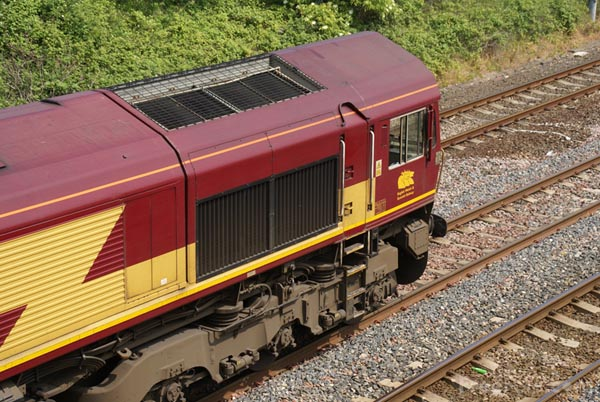 Picture of EWS Class 66 - Free Pictures - FreeFoto.com
