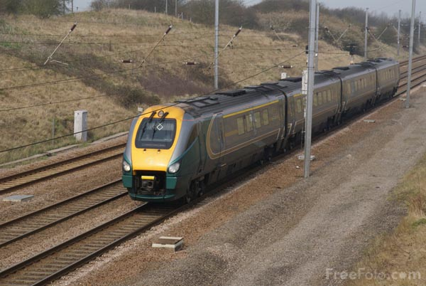 Picture of Hull Trains Class 222 - Free Pictures - FreeFoto.com