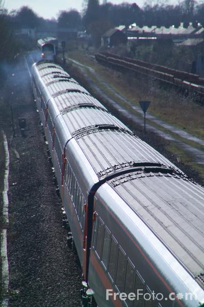 Picture of Diverted GNER 125 HST - Free Pictures - FreeFoto.com